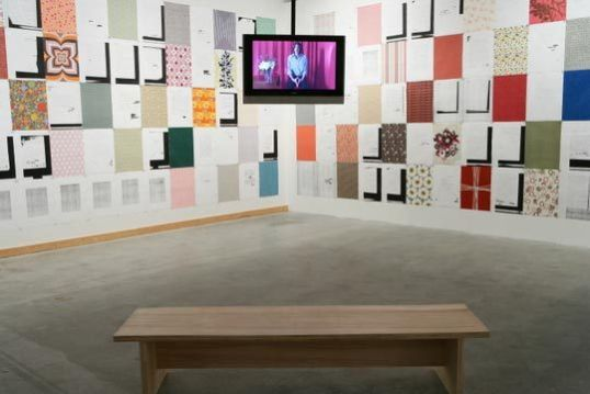 "Letters of an Army of Three, Installation View, in ""Nothing Is Neutral"", RedCat Gallery, Los Angeles 2006"