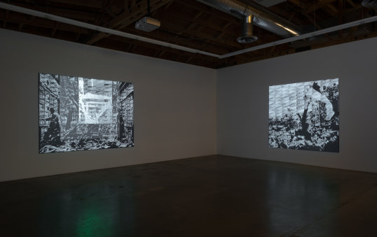 """CIRCA TRILOGY,"" Installation View"