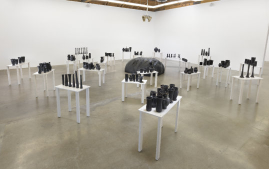 """Chisholm's reverb,"" installation view"