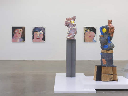 """Mutual Admiration Society,"" Installation view, Photo credit: Robert Wedemeyer"