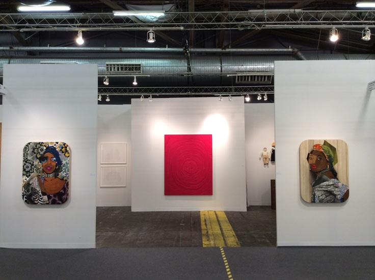 The Armory Show Booth Installation