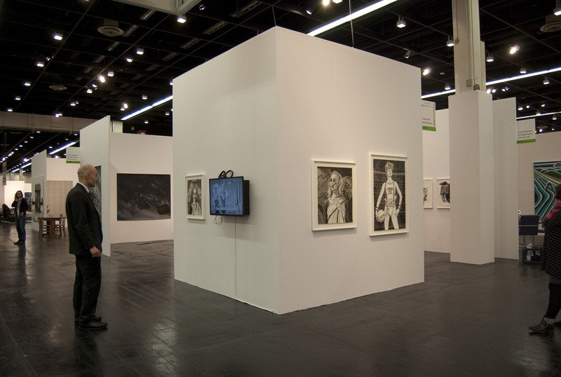 Installation view, SVLAP at Art Cologne 2014
