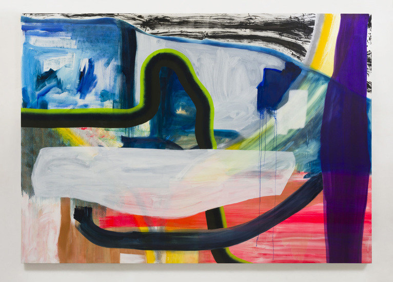"Monique van Genderen, ""Untitled"", 2014, oil on linen, 100"" H x 140"" W (254 cm H x 355.6 cm W), Gallery Inventory #VGE192"