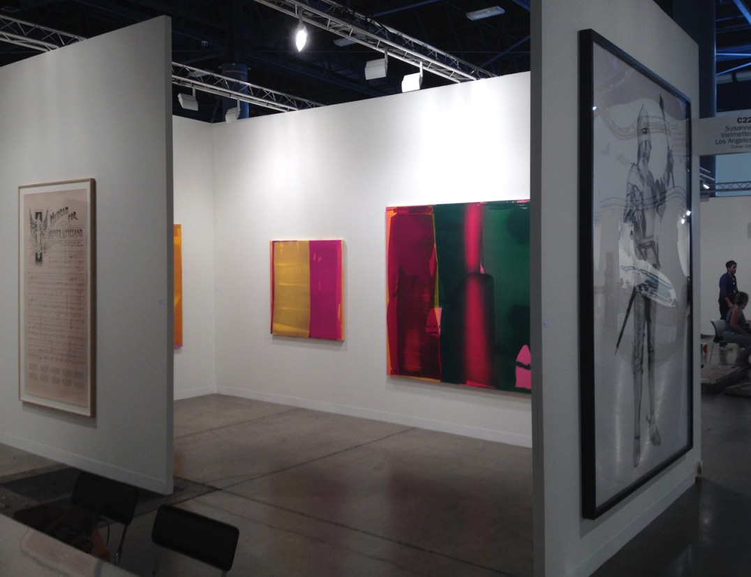 Susanne Vielmetter Los Angeles Projects at Art Basel Miami Beach, December 4 - 8, 2013