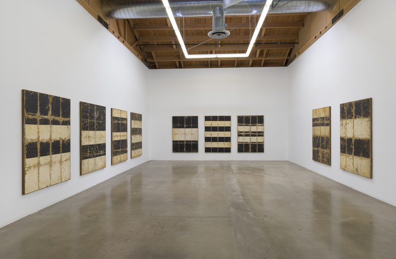 """SKZ Painting Storage,"" Installation View, Photo cred: Robert Wedemeyer"