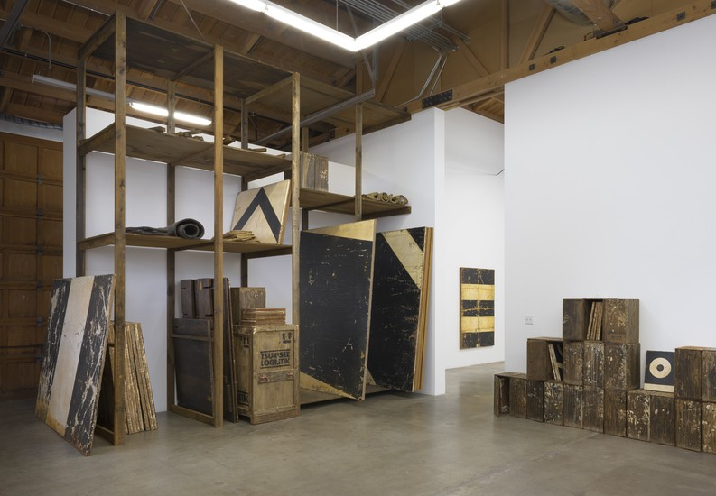 "Installation View, ""SKZ Painting Storage,"" 2015, Photo cred: Robert Wedemeyer"
