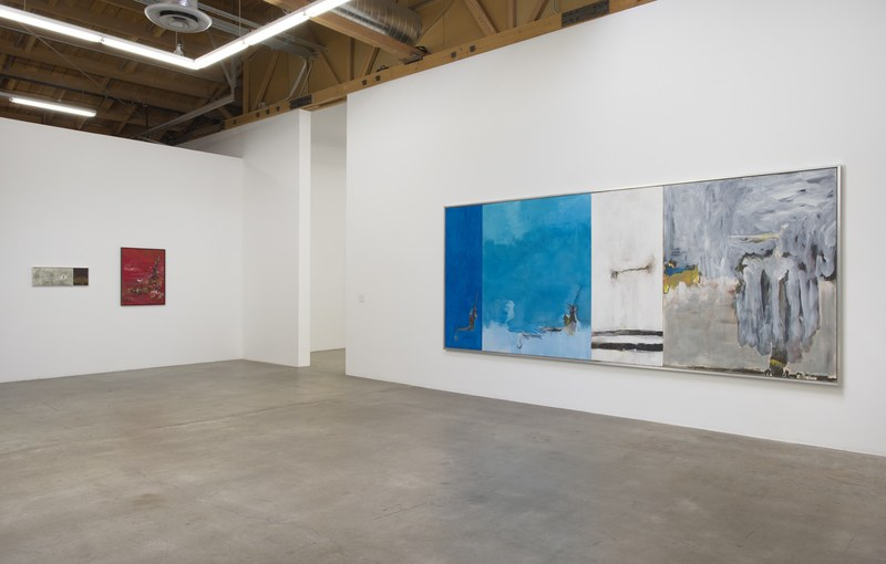 onetwo painting, 2015, Installation view, SVLAP Solo Show, April 11 - May 23, 2015; Photo credit: Robert Wedemeyeronetwo painting, 2015, Installation view, SVLAP Solo Show, April 11 - May 23, 2015; Photo credit: Robert Wedemeyerleslie, 2013 - 2015, Acryli