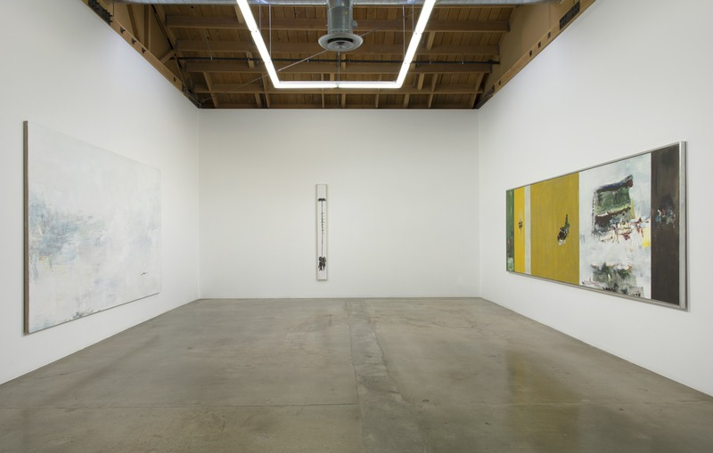 onetwo painting, 2015, Installation view, SVLAP Solo Show, April 11 - May 23, 2015; Photo credit: Robert Wedemeyer