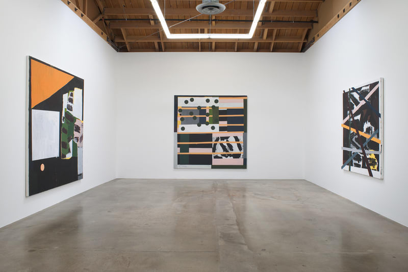 Nick Aguayo, Installation view, SVLAP solo exhibition, May 31 - July 5, 2014; Photo credit: Robert Wedemeyer