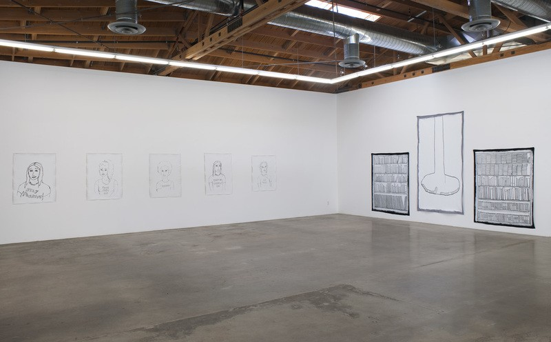 Stanya Kahn, Don't Go Back To Sleep, Installation view, SVLAP solo, April 19 - May 24, 2014; Photo credit: Robert Wedemeyer