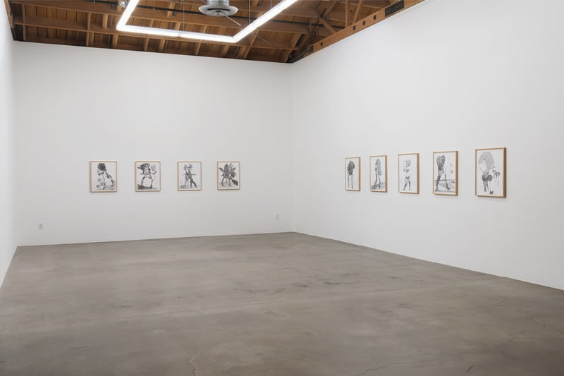 "Nicola Tyson, ""Trouble in Happiness"", March 1 - April 12, 2014, Installation view, Susanne Vielmetter Los Angeles Projects; Photo credit: Robert Wedemeyer"