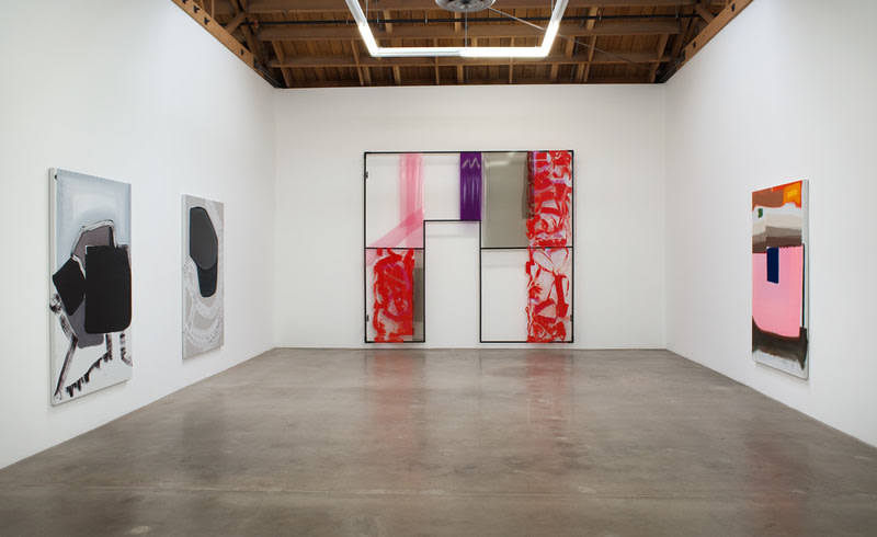 Monique van Genderen, 2011, Installation view, Susanne Vielmetter Los Angeles Projects; Photo credit: Robert Wedemeyer