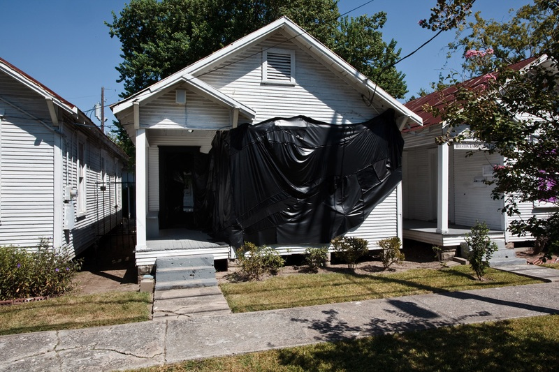 Round 33, 2507 Holman: Rodney McMillian, 2010, Dimensions variable, Courtesy of Project Row Houses, Houston, TX
