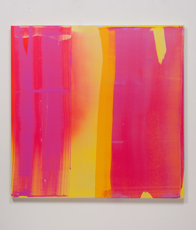 "Into the Sun #1, 2013, Acrylic on linen, 60"" H x 60"" W (152.4 cm H x 152.4 cm W), Photo Credit: Robert Wedemeyer"