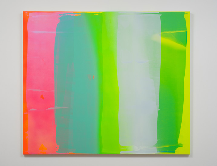 "Into the Sun #9, 2013, Acrylic on Canvas, 72"" H x 84"" W, Photo Credit: Robert Wedemeyer"