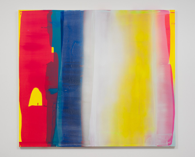 "Into the Sun #11, 2013, Acrylic on Canvas, 84"" H x 96"" W, Photo Credit: Robert Wedemeyer"