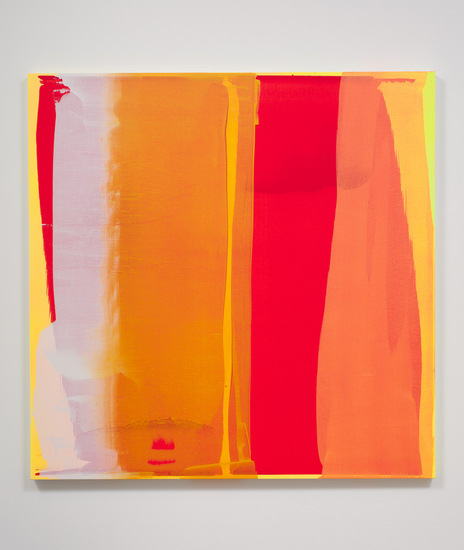 "Into the Sun #5, 2013, Acrylic on Canvas, 60"" W x 60"" W, Photo Credit: Robert Wedemeyer"
