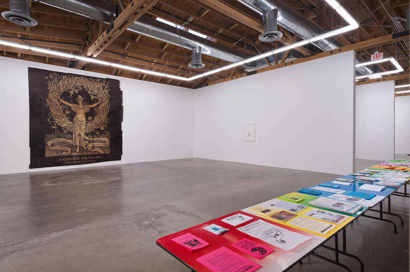 Help the Work Along, 2012, Installation view; Photo Credit: Robert Wedemeyer