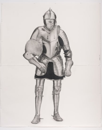 Knight #6, 2011, Pencil on paper, 102