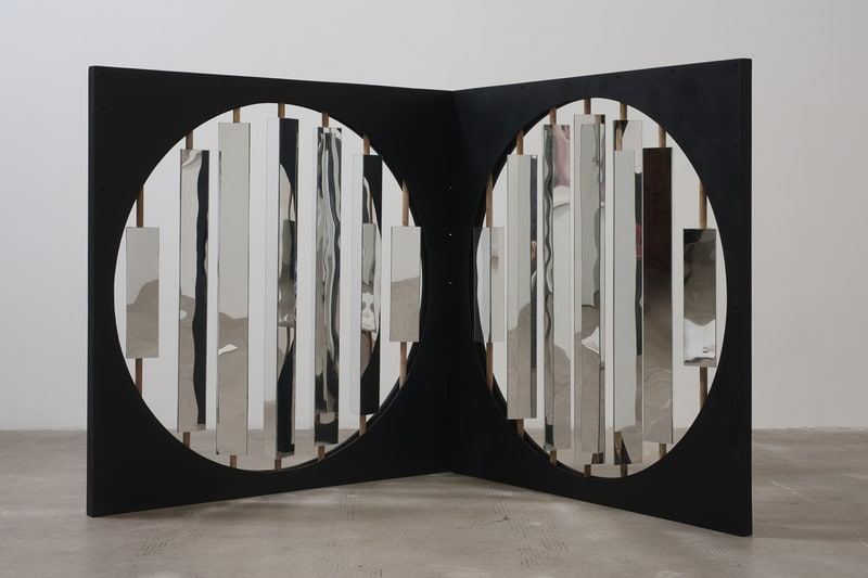 : Untitled, 2009, Wood & plexiglass