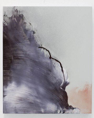 Untitled (after Goya), 2009, Oil and ink on panel, 15