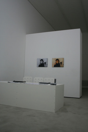 Peas, Installation View, Solo Exhibition, Susanne Vielmetter Berlin Projects, 2007