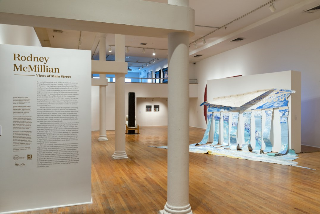 """Views of Main Street,"" installation view, Photo cred: Adam Reich"