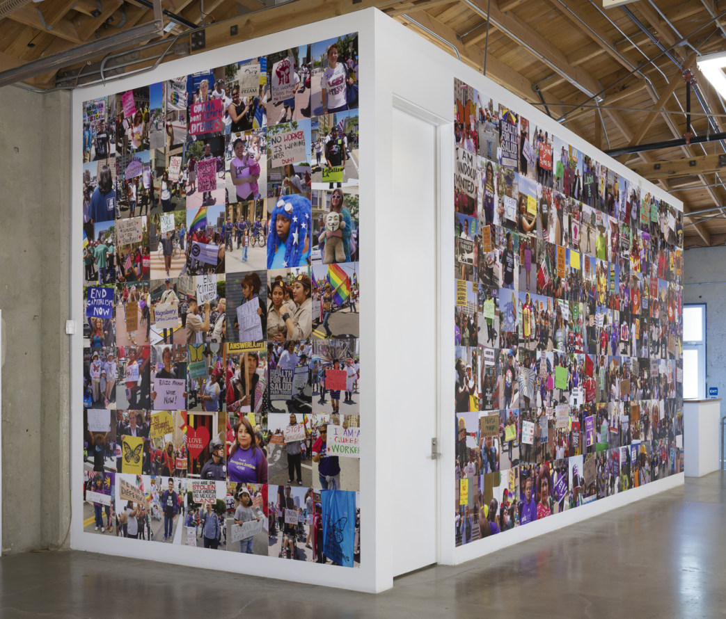 """Triumph of Labor,"" Installation View, Photo cred: Robert Wedemeyer"