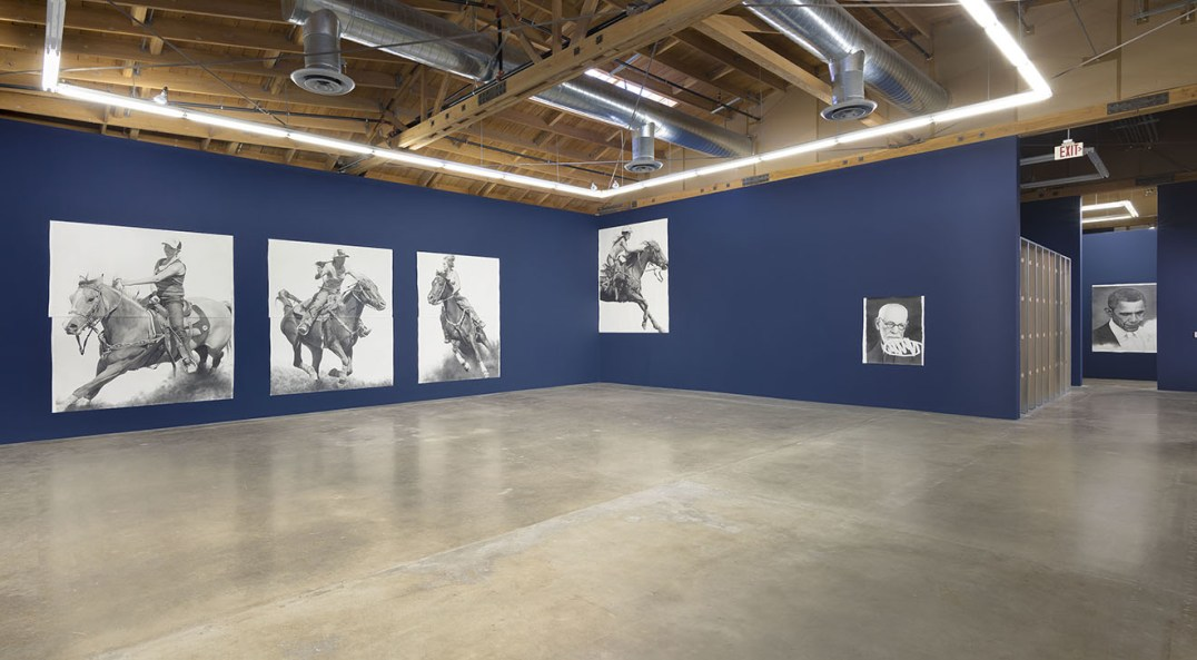 """BY AND BY,"" Installation View, Photo credit: Robert Wedemeyer"
