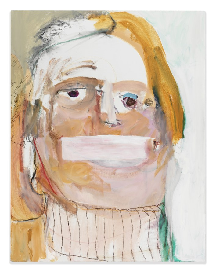 "Hillary, 2016, Acrylic on canvas, 65 x 50"" [HxW]"