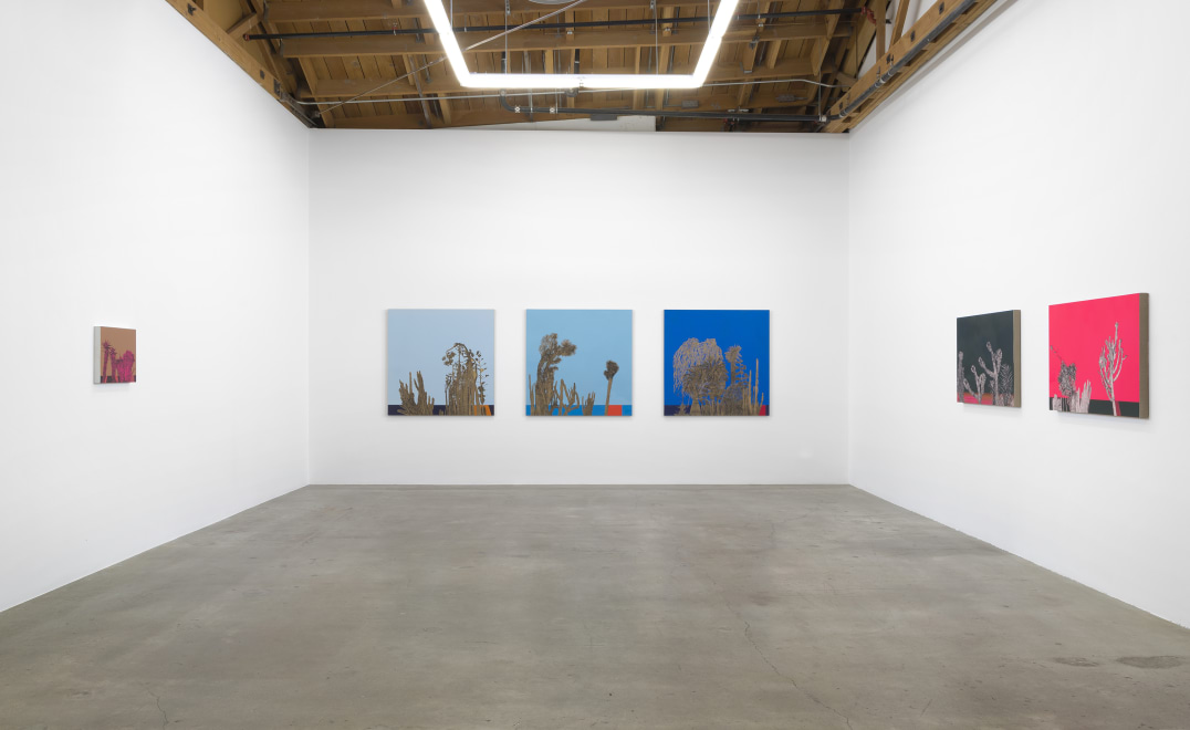 """The Left Coast,"" Installation view, Photo credit: Robert Wedemeyer"