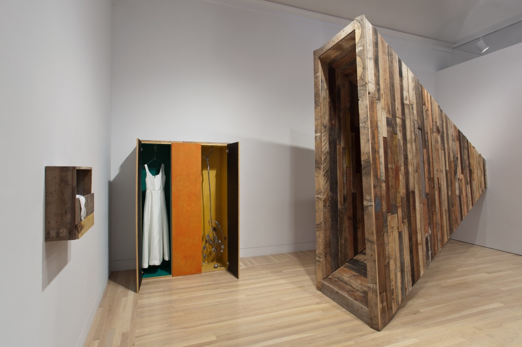 """Anonymous Needs and Desires (Giza/Gaza),"" Installation view, Hammer Museum, Los Angeles, CA, 2012"