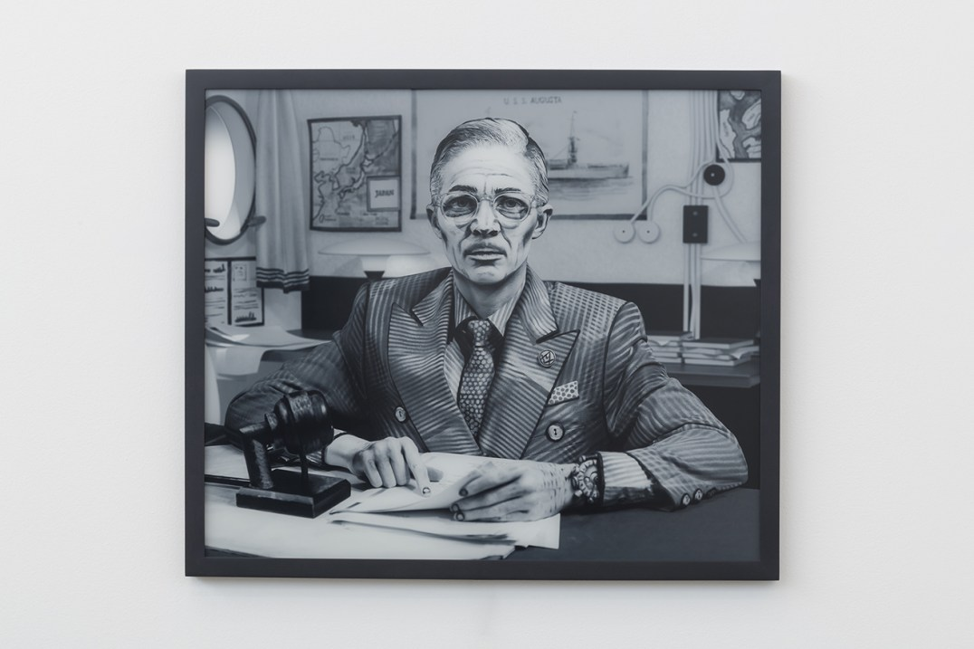 "Harry S. Truman, 2017, Photograph, transparency on lightbox, 25.5 x 30 x 1.5"" [HxWxD] (64.77 x 76.2 x 3.81 cm), Edition 1 of 4, 2 AP"