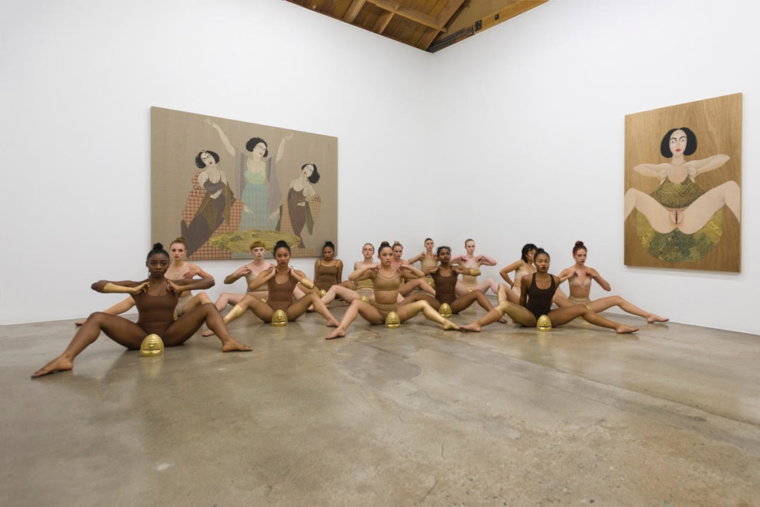 "Performance ""US and THEM"", 2018, Photo credit: Ed Mumford"