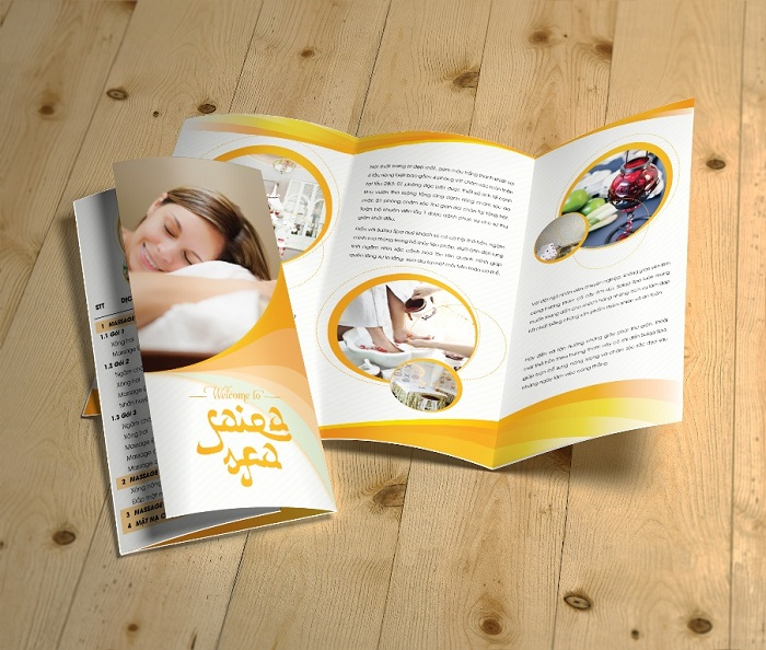Brochure Saigon Spa