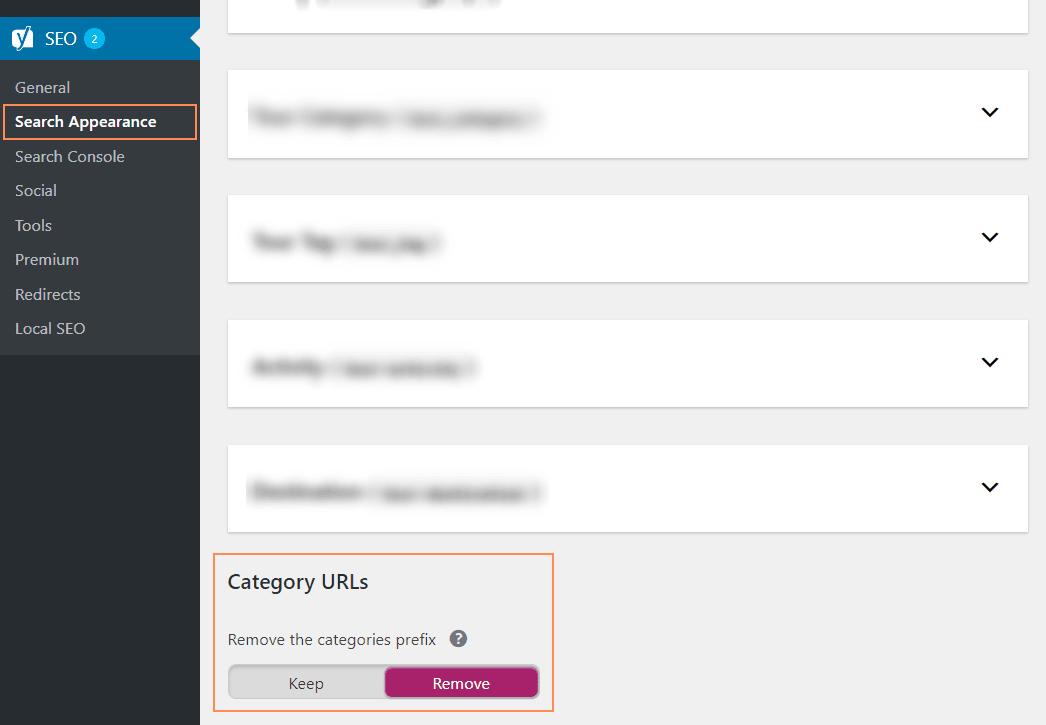 Xóa Category trên đường dẫn WordPress bằng Yoast