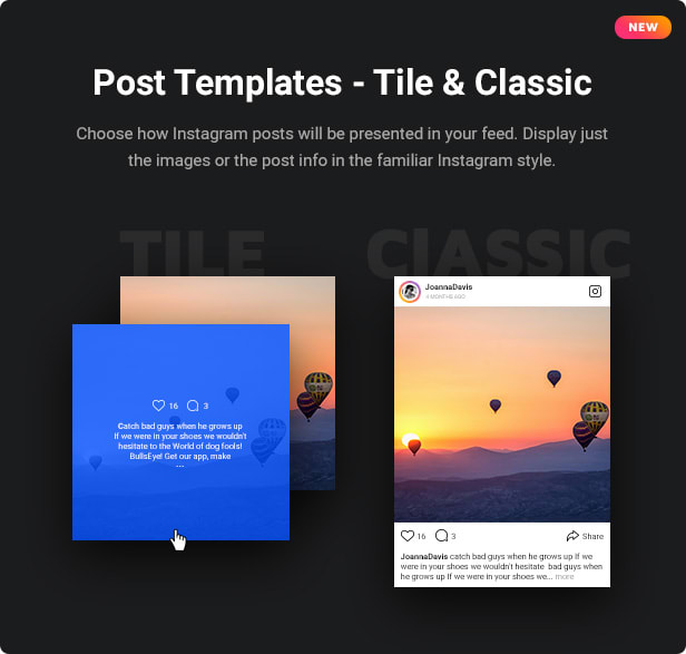 Instagram Feed Post Templates