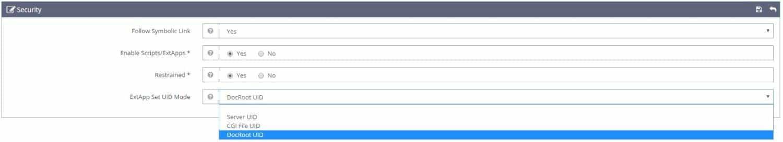 PHP Handler với suExec trên OpenLiteSpeed - 2