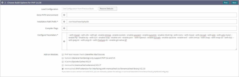 Cài đặt nhiều phiên bản PHP trên OpenLiteSpeed - 2