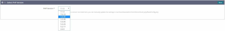 Cài đặt nhiều phiên bản PHP trên OpenLiteSpeed - 1