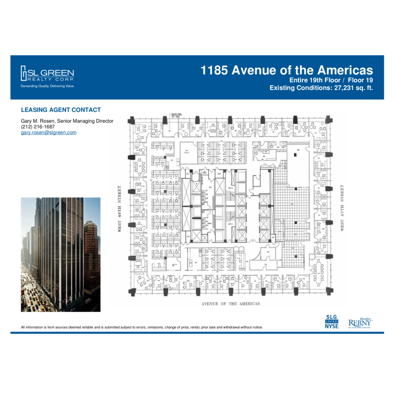 1185 avenue of the americas vts