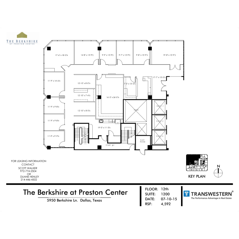 The berkshire preston center 5950 berkshire lane vts for 13th floor dallas address