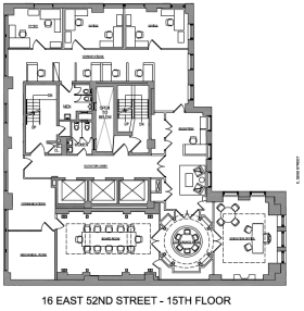 16 east 52nd street 15th floor vts for 15th floor