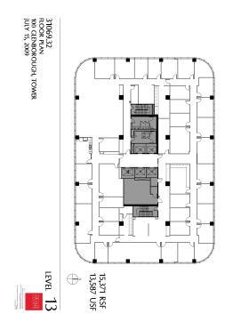 Northborough tower 100 glenborough dr 13th floor unit for 13th floor design