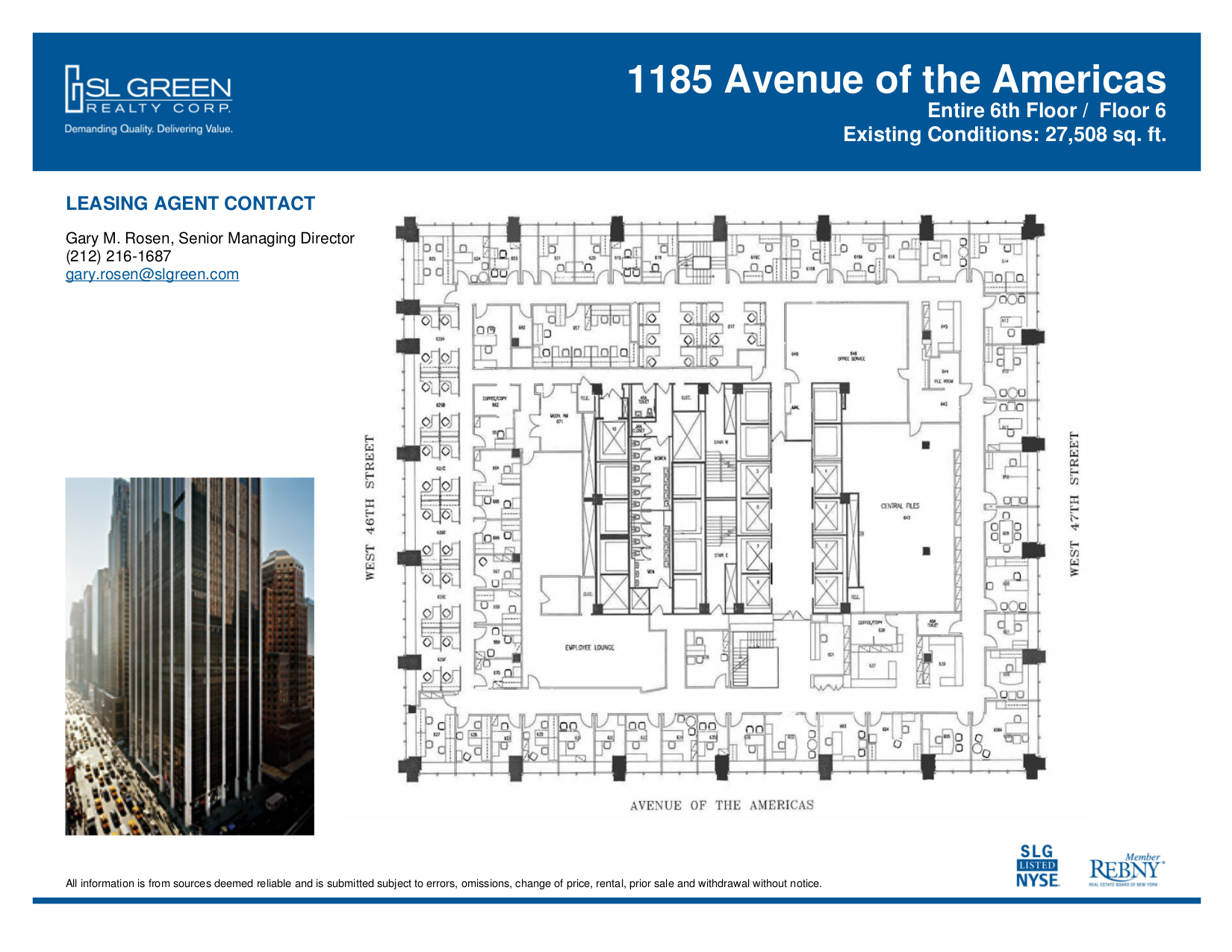 1185 avenue of the americas 6th floor vts for 1290 avenue of the americas sixth floor