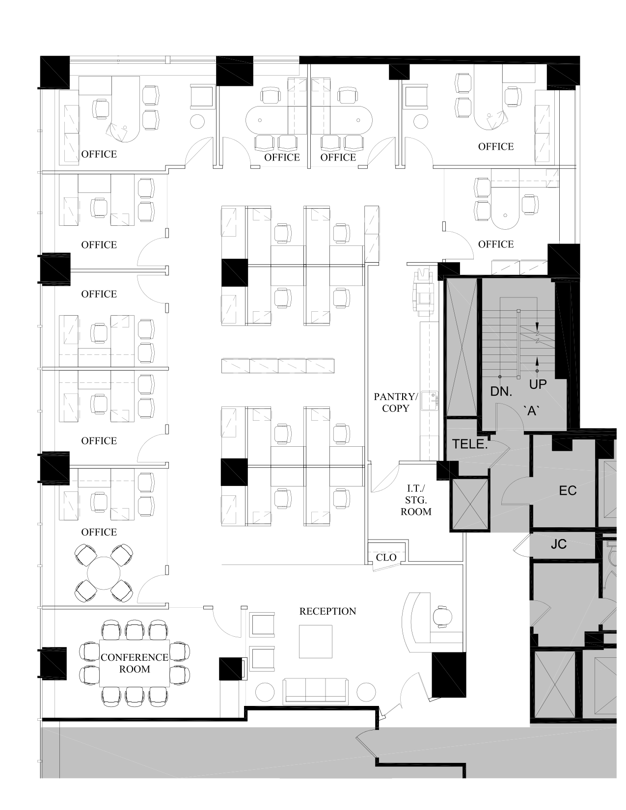 800 third avenue 3rd floor vts for Vice president house floor plan