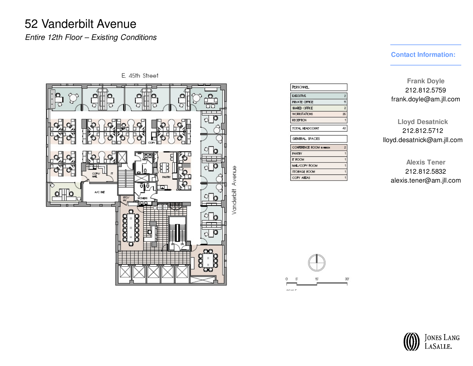 52 vanderbilt avenue 12th floor vts for Vice president house floor plan