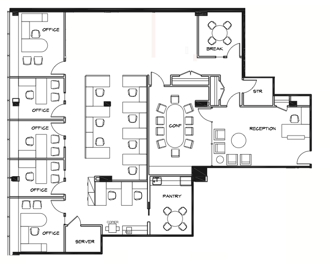 1212 avenue of the americas 8th floor vts for Vice president house floor plan