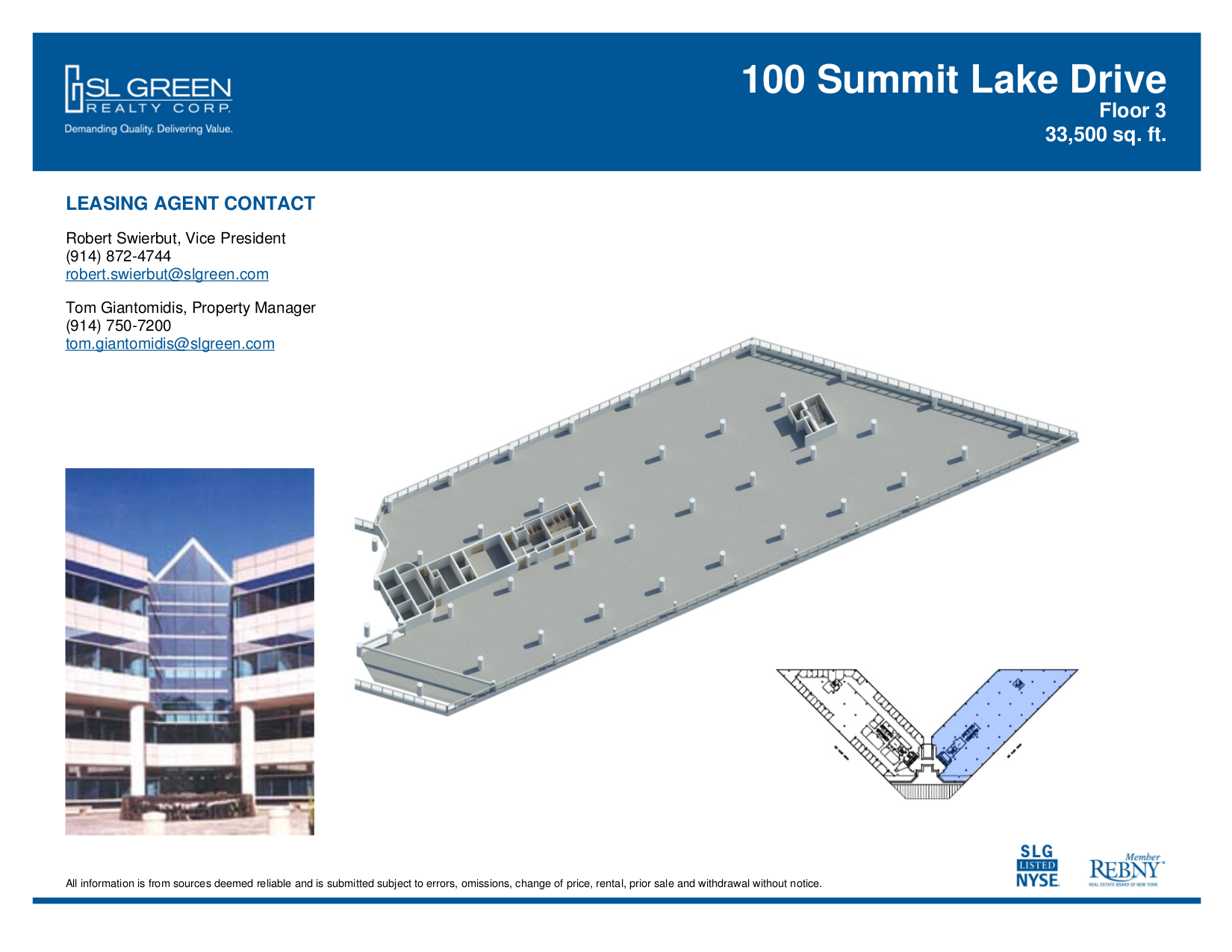 100 summit lake 3rd floor vts for 100 floors 3rd floor