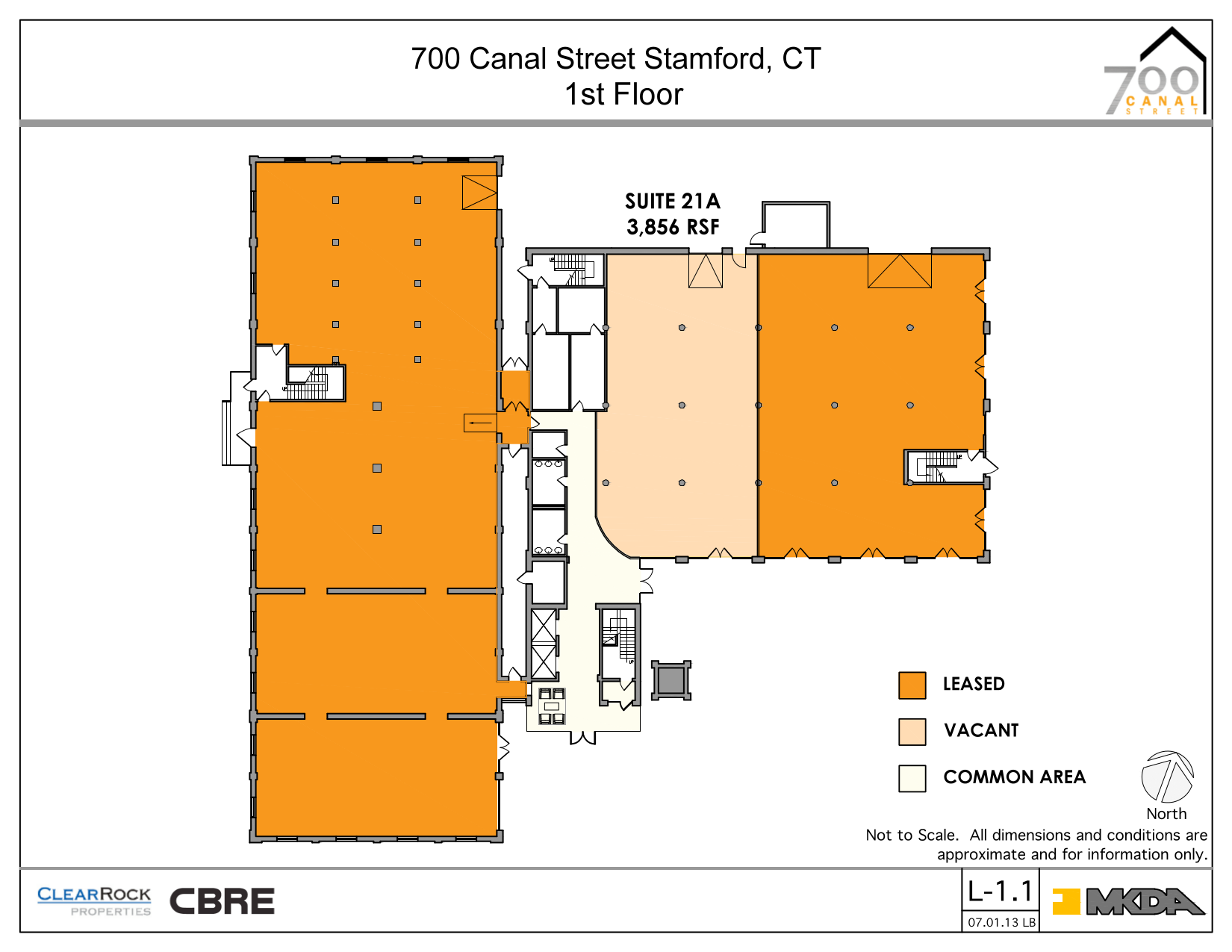 700 canal street 1st floor unit 21a vts for Vice president house floor plan